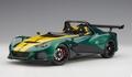 Lotus 3 - Eleven Groen/geel  Green/ Yellow 1/18