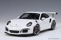 Porsche 911 GT3 RS Wit  White 1/18