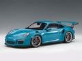 Porsche 911 (991) GT3 RS Blauw Maimi Blue 1/18