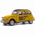 Citrien 2 cv 2pk James Bond 007 Geel Yellow 1981 1/18