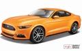 Ford Mustang 2015 Oranje Orange 1/43