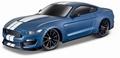 Ford Shelby GT350 Blauw Blue  auto geluid + werkende lichten 1/24