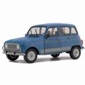 Renault R4 GTL  Blauw  Blue 1/18
