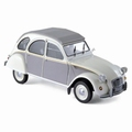 Citroen 2 CV 2 PK Dolly  1985 Wit Grijs - White Grey 1/18