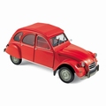 Citroen 2CV 2 PK Rood  Red 1/18