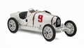 Bugatti Typ 35 Grand Prix Nation color project Duitsland # 9 1/18