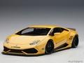 Lamborghini Huracan  Liberty walk LB Works  Metallic Yellow 1/18