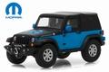 Jeep Wrangler Mopar Black Blue Zwart blauw 1/43 1/43
