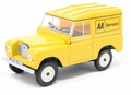 Land Rover Series lll SWB Hard top AA service  Geel Yellow 1/43