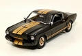 Shelby GT350h zwart/goud  Black/ Gold 1/18