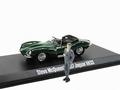 Jaguar XKSS 1957 Steve Mc Queen + Figuur  Figure 1/43