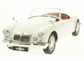 MG A MKII A 1600 Cabrio 1961 Wit -Cream 1/18