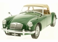 MG A MKI Twin Cam Closed 1959 Groen Green 1/18