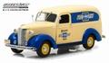 Chevrolet Panel truck 1939 Beige Blauw  Creme Blue 1/24