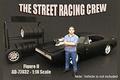 Figuur street  racing Crew II 1/18