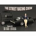 Figuur street racing Crew III 1/18