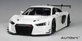 Audi R8 FIA GT GT3 Wit  White 1/18