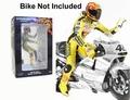 Figuur Figurine Valentino Rossi GP 500 2001 + Moto steun 1/18