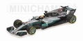 Mercedes Benz AMG Petronas F1 W08 EQ Power + L Hamilton 1/43