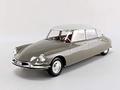 Citroen DS 19 Beige Marron Glacé & Blanc Carrare 1959 1/18
