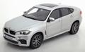 BMW X6M Zilver  Silver 2015 1/18
