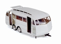 Caravan Henon  1955 Wit White  1/18