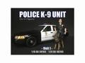 Police met K9 Politie en hond Unit I 1/24