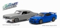 Chevrolet Chevelle SS & Nissan skyline Gt-r set Fast&Furious 1/43