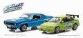 Chevrolet  Yenko camaro & Mitsubishi Lancer Fast & Furious 1/43