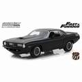 Plymouth Barracuda Fast & Furious 7 costum black Letty's 1/18
