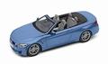 BMW M4 Cabriolet F83 2015  Blauw  Blue 1/18
