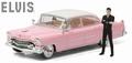 Cadillac Fleetwood 1955 series 60 + figuur  Elvis Presley 1/43