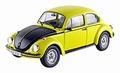 VW Volkswagen Kever 1303 GSR Geel/zwart 1/18