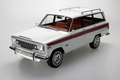 Jeep Grand Wagoneer Wit White  1/18