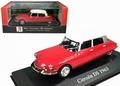 Citroen DS 1963 Rood / Wit 1/43