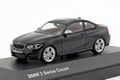 BMW 2 Series Coupe F22 zwart 2014 1/43
