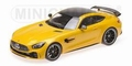 Mercedes Benz AMG GTR 2017 Geel  Yellow 1/18