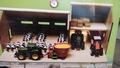 Boerderij veestal met werkplaats schuur Globe farming 1/32
