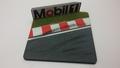 Diorama Mobil 1   muur en slipstrook - Wall & rumble strip  1/43