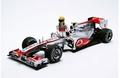 Mc Laren Mercedes Vodafone Hamilton MP4-25 Formule 1 Canada 1/18