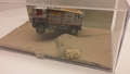 Diorama Paris Dakar 2005  Ginaf rally power  CAT # 564 1/43