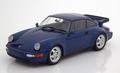 Porsche 911 Turbo ( 964 ) 1990 Blauw metallic Blue 1/18