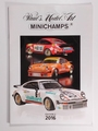 Paul's Model Art MINICHAMPS Catalogi 2016 Edition 2
