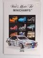 Paul's Model Art MINICHAMPS Catalogi 2016 Edition 1