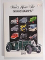 Paul's Model Art MINICHAMPS Catalogi 2007 Edition 1