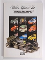Paul's Model Art MINICHAMPS Catalogi 2004 Edition 1