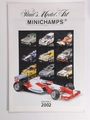 Paul's Model Art MINICHAMPS Catalogi 2002 Edition 2