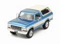 Ford Bronco 1978 Blauw/Wit  - Blue/White 1/43