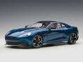 Aston Martin Vanquish S 2017 Blauw ming Blue 1/18