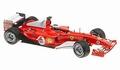 Ferrari F2004  R,Barrichello Formule 1 Vodafone Shell F1 1/18